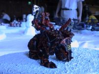 Khornate Chapion Rampaging on Hoth